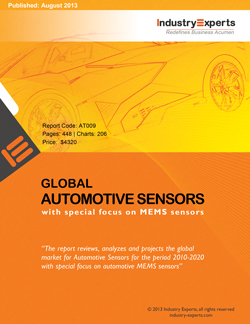 Global Automotive Sensors Market with Special Focus on MEMS Sensors