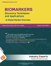 Biomarkers Discovery Techniques and Applications A Global Market Overview