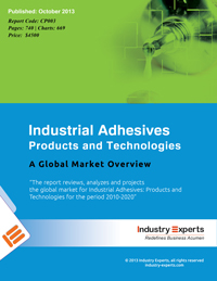Industrial Adhesives Products and Technologies A Global Market Overview