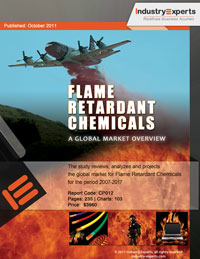 Flame Retardant Chemicals A Global Market Overview