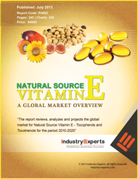 Natural Source Vitamin E Tocopherols and Tocotrienols A Global Market Overview