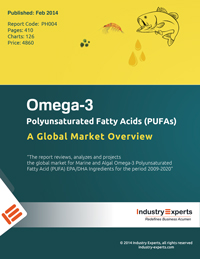 Omega 3 Polyunsaturated Fatty Acids PUFAs A Global Market Overview